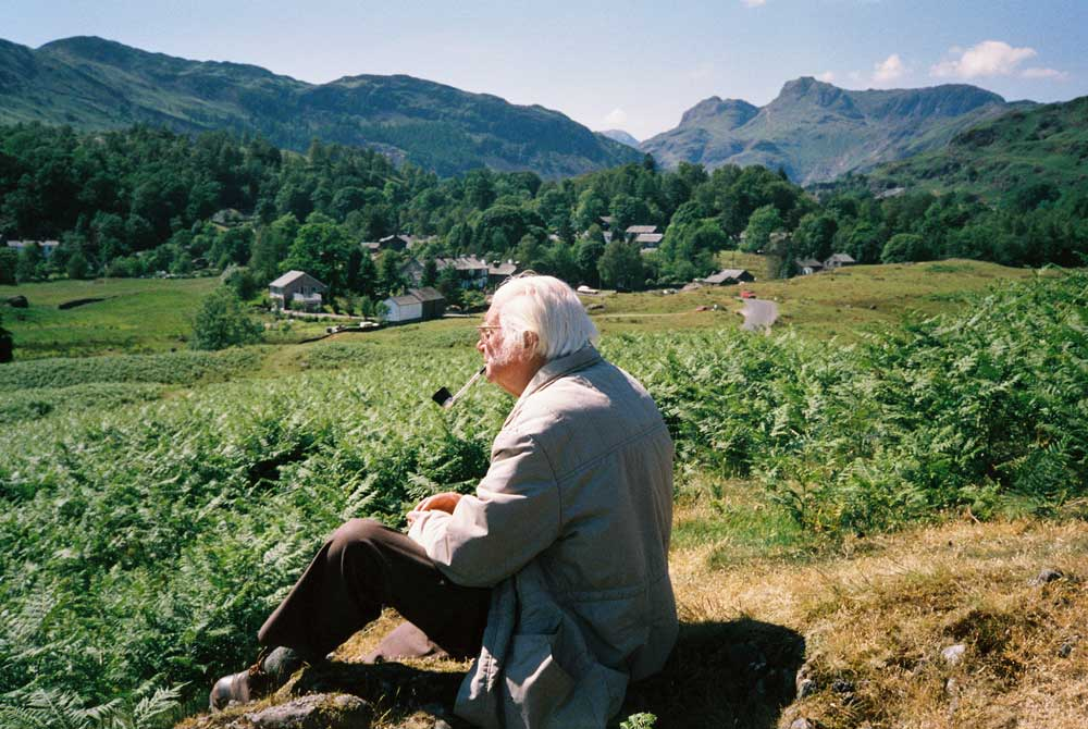 Wainwright in Great Langdale. Photo by Andrew Nichol. Copyright Chris Butterfield Archive